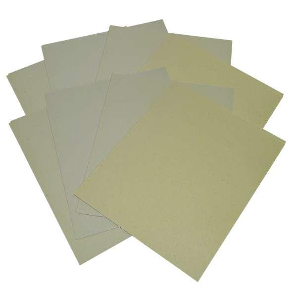 20 Blatt Schleifpapier Schmirgelpapier 60,100,150,240er Körnung gemischt im Set
