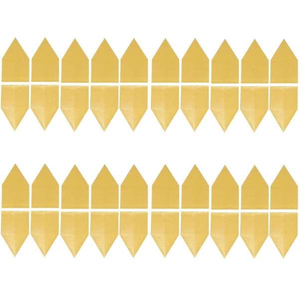 40er Set Gelbsticker Leimfalle Klebefalle Gelbtafel Fliegenfalle Fliegen giftfrei