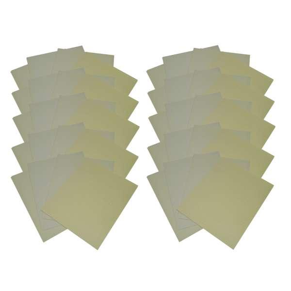 100 Blatt Schleifpapier Schmirgelpapier 60,100,150,240er Körnung gemischt im Set