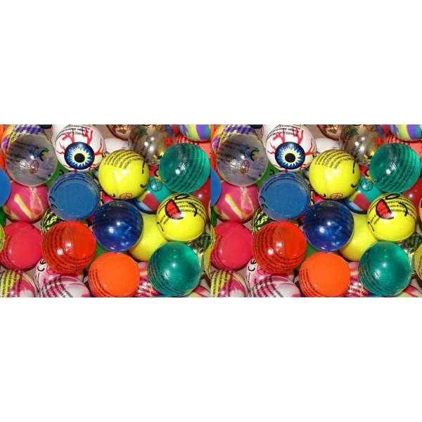 20x bunte lustige Flummis Gummiball Hüpfball Springball Flummi Tombola Mitgebsel Party
