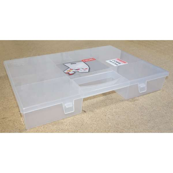Kleinteilemagazin Sortierkasten Organizer Sortimentskasten Kunststoff 7 Fächer