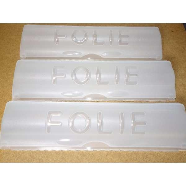 3er Set Folienspender für Alu- und Frischhaltefolie Folienabroller Folienhalter Folien Spender