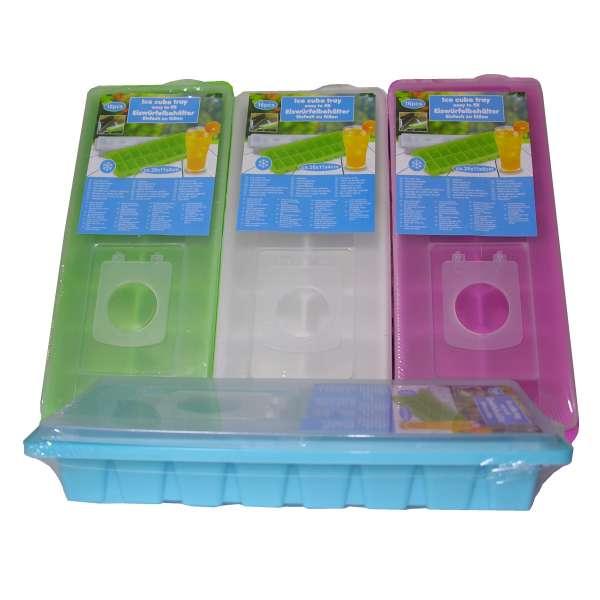 Eiswürfelform Eiswürfelbereiter mit Deckel Eiswürfel Form Eis Behälter