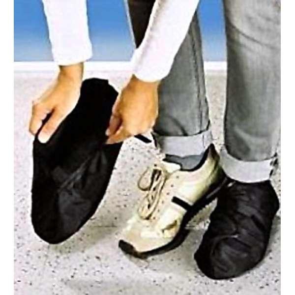 Schuh Überzieher schwarz Anti Rutsch Winter Regen Überschuh Schutz Überzug