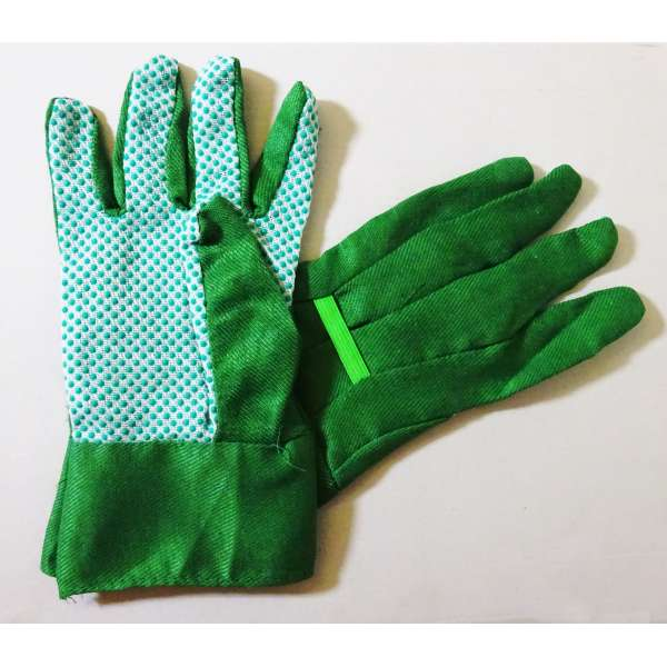 1 Paar Gartenhandschuhe Arbeitshandschuhe Gartenarbeit Handschuhe mit Noppen Gr.10
