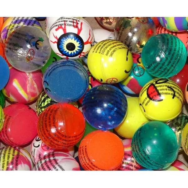 10x bunte lustige Flummis Gummiball Hüpfball Springball Flummi Tombola Mitgebsel Party