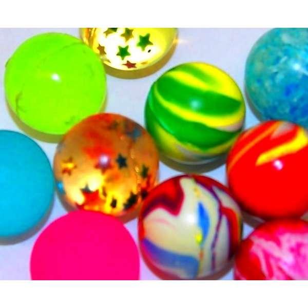 10x bunte Flummis Gummiball Hüpfball Springball Flummi Tombola Mitgebsel Party