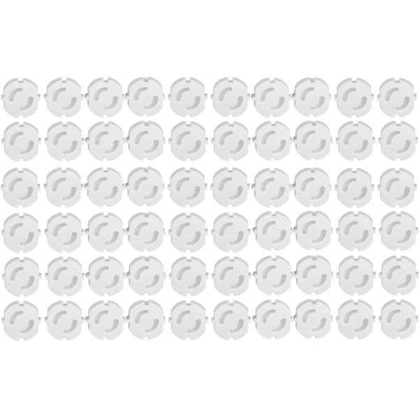 60er Pack Steckdosen-Sicherung Kindersicherung Kinderschutz Steckdosenschutz