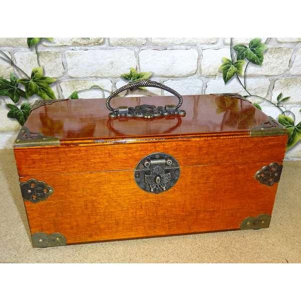 Schmuckschatulle Schmuckkästchen Schmuckkasten Schatulle Schmuckbox Holz Antik-Stil