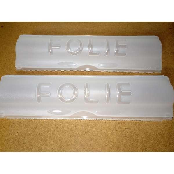 2er Set Folienspender für Alu- und Frischhaltefolie Folienabroller Folienhalter Folien Spender