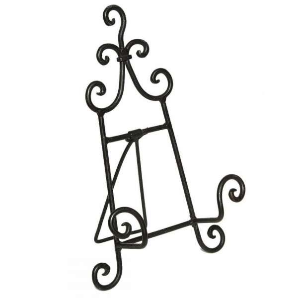 Staffelei aus Metall Halter Kochbuchständer Buchständer Regal Bildhalter 26cm
