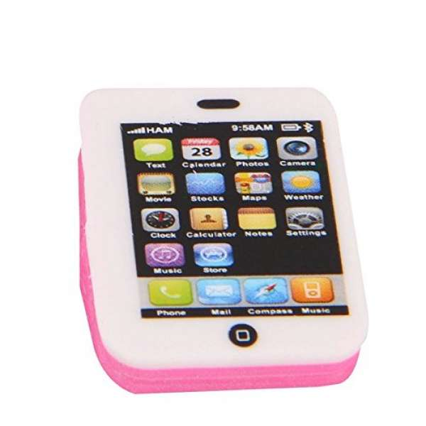 Mini Radiergummi Smartphone Handy Radierer Mitgebsel Kindergeburtstag Party Tombola
