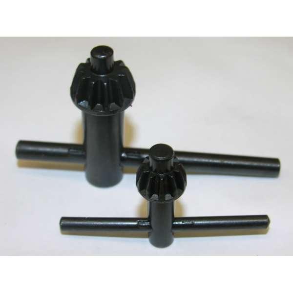 Bohrfutterschlüssel 2er Set Zahnkranz Schlüssel Bohrmaschinen 13mm/10mm Bohrfutter