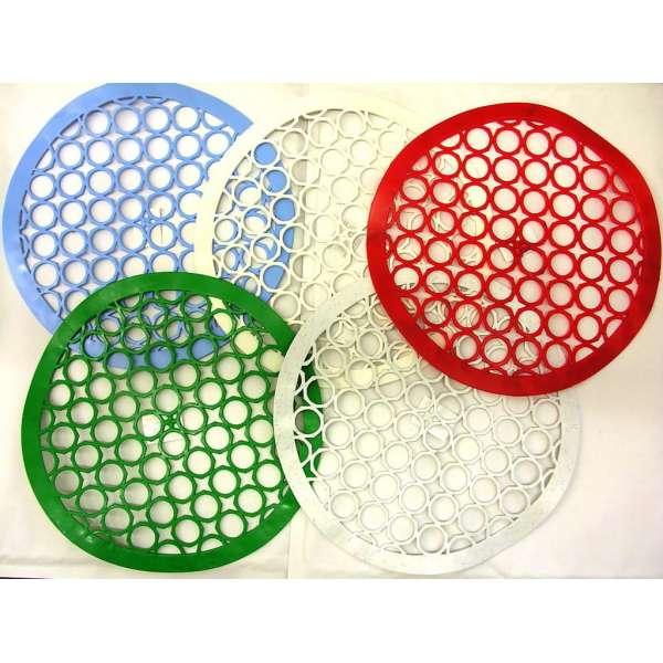 Spülbeckeneinlage rund 26,5 cm Kunststoff Spülbecken Matte Schoner Gummi