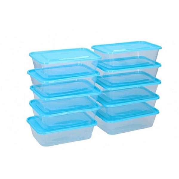 20tlg. Frischhaltedosen Set Aufbewahrung Box Dose mit Deckel Vorratsdosen Kunststoff