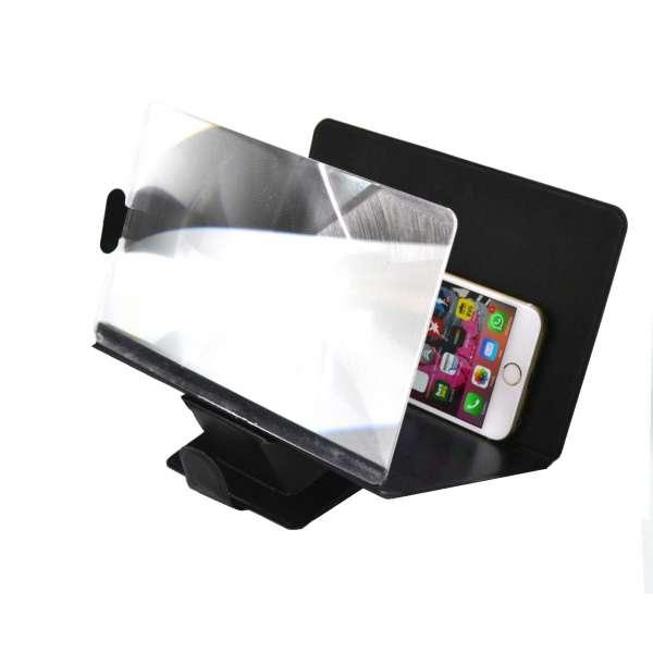 Smartphone Bildschirm Vergrößerung Lupe Handy Vergrößerungslupe 300% Halterung