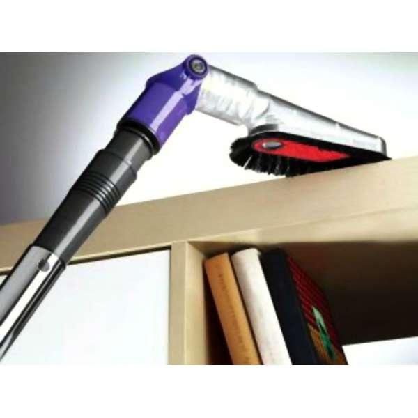 Staubsauger-Winkelaufsatz ca.34×8,5×7,5cm Aufsatz +Adapter Regale Ecken Saugen