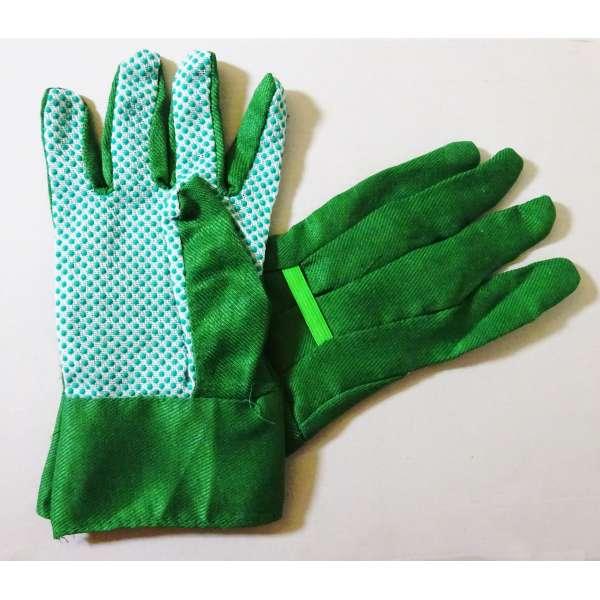 1 Paar Gartenhandschuhe Arbeitshandschuhe Gartenarbeit Handschuhe mit Noppen Gr. 9