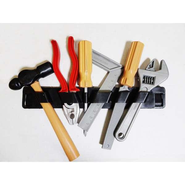 6tlg Kinderwerkzeug Set Werkzeug Halter Kinder Spielzeug Zange Hammer Tools Plastik
