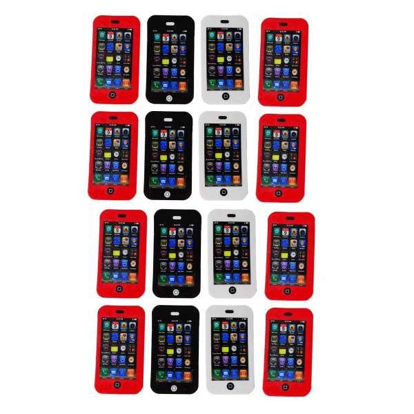 16x Radiergummi Smartphone Handy Radierer Mitgebsel Kindergeburtstag Party Tombola