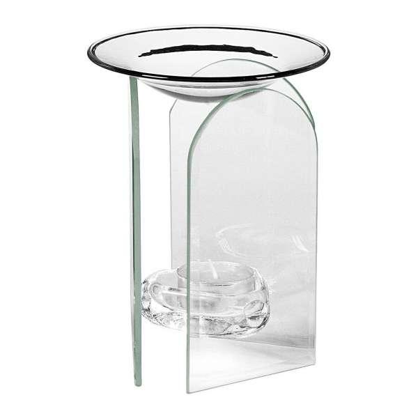 Moderne Duftlampe von Pajoma Sky Aromalampe aus Glas abgerundet Duftöl-Lampe