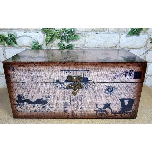 Schmuck Schatulle Schmuckkästchen Aufbewahrungsbox Holz Kiste Box Deko Antik