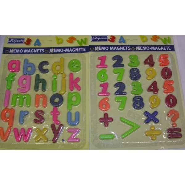 50er Set bunte Kühlschrank Magnete Zahlen und Buchstaben Küchen Magnet Memo