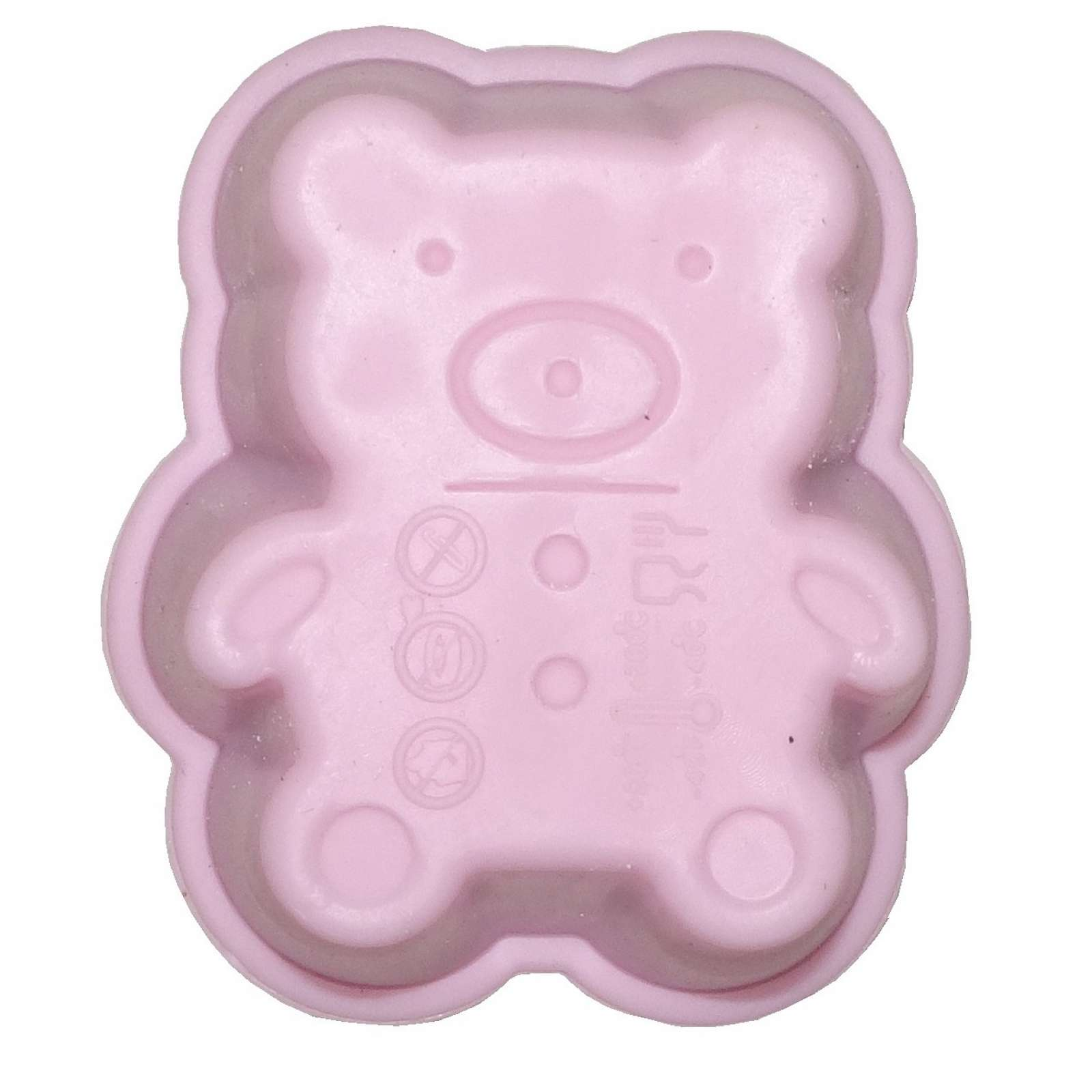 6er set Silikon Muffin Backform pink Cupcake