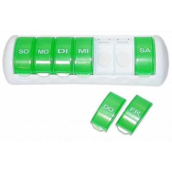 Tablettendose 7 Tage Pillenbox Pillendose Tablettenbox Spender Medikamenten-Box