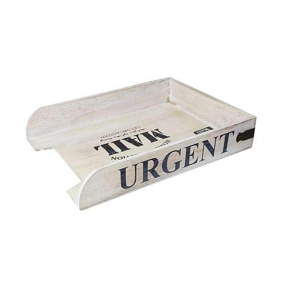 Briefablage Holz URGENT Schreibtisch Organizer Ablage Box Briefhalter Station