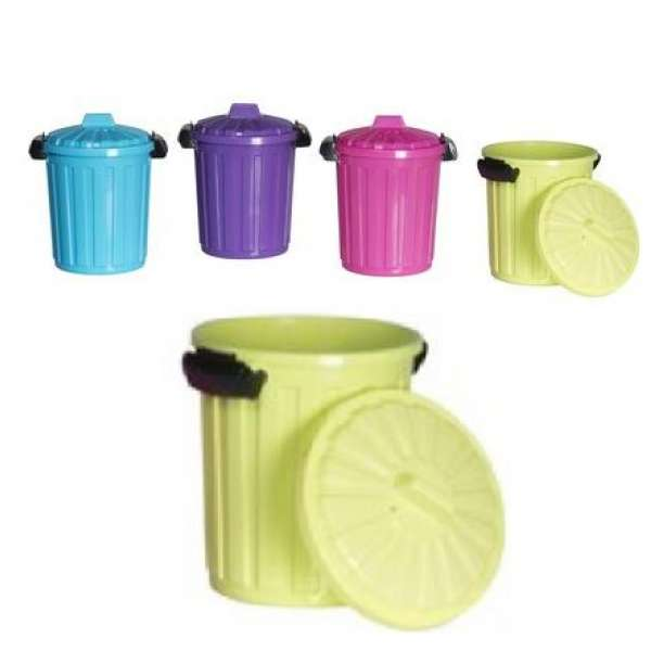 Mülltonne Mülleimer ca. 7 Liter mit Deckel Abfalleimer Büro Küche ...