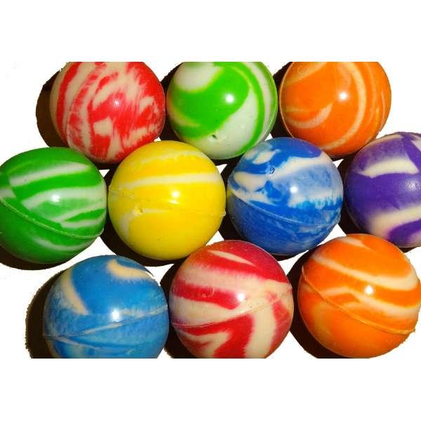 10x Flummis Gummiball Hüpfball Springball Flummi Ball Tombola Mitgebsel Party bunt