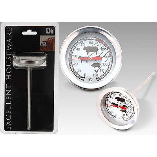 Praktischer Grillthermometer Bratenthermometer Fleischthermometer Thermometer