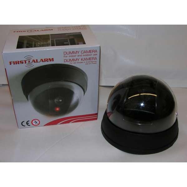 Dummy Überwachungskamera Video Kamera wireless Attrappe in-/outdoor LED