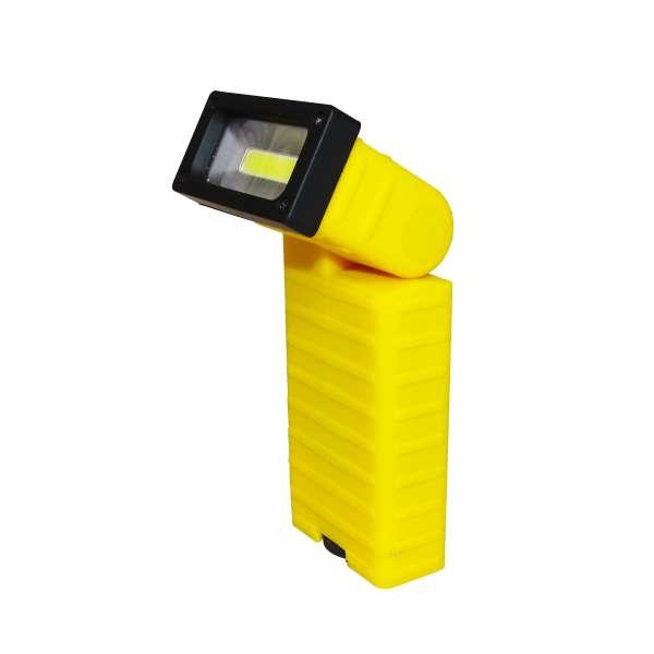 COB LED Fluter Arbeitslampe Taschenlampe Magnet Clip kabellos Licht verstellbar