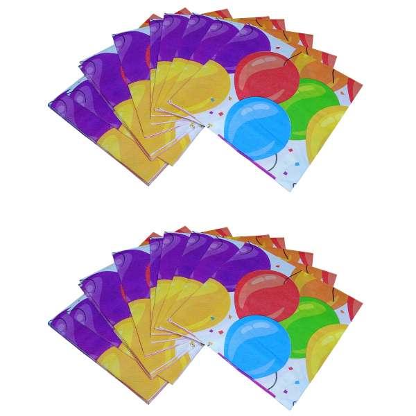 40x Papier Serviette Servietten Luftballon Ballon Geburtstag Dekoration Kinder