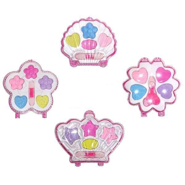 4x Kinderschminke im Set Schminkset für Kinder Kosmetik Spielschminke Prinzessin