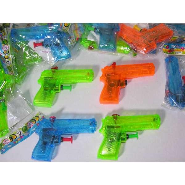 8x Kinder Wasserpistole 9x7cm Spritzpistole Wasserspritze Mitgebsel Tombola Party