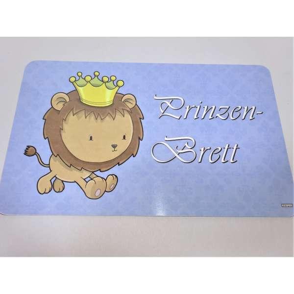 Kesper Frühstücksbrettchen Löwe Kinder Brettchen Prinzen Brett Schneidebrett Melamin