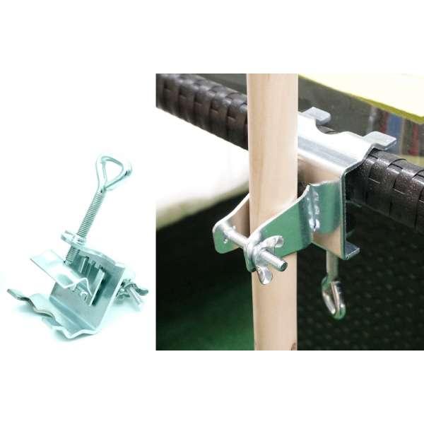 Sonnenschirmhalter mit Klammer für Tisch Geländer Balkon Schirmhalter Stahl