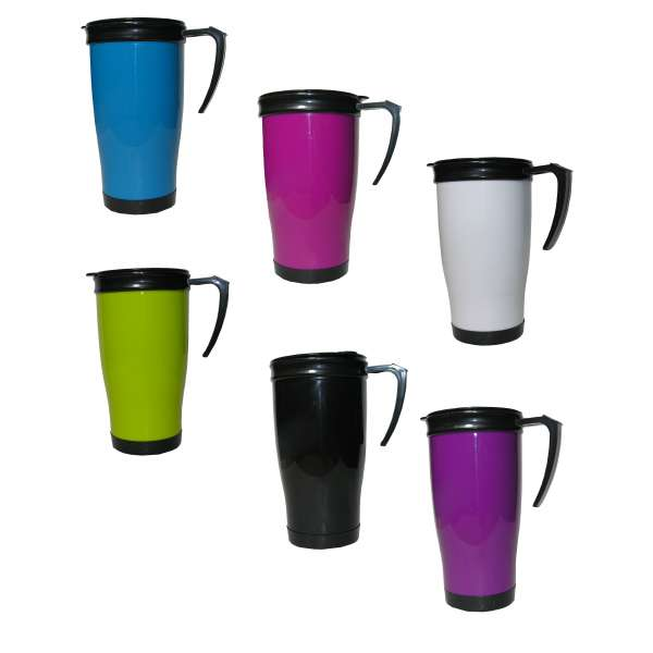 Coffee To Go Becher Reisebecher Kaffeebecher Thermobecher Trinkbecher Isolierbecher 400ml