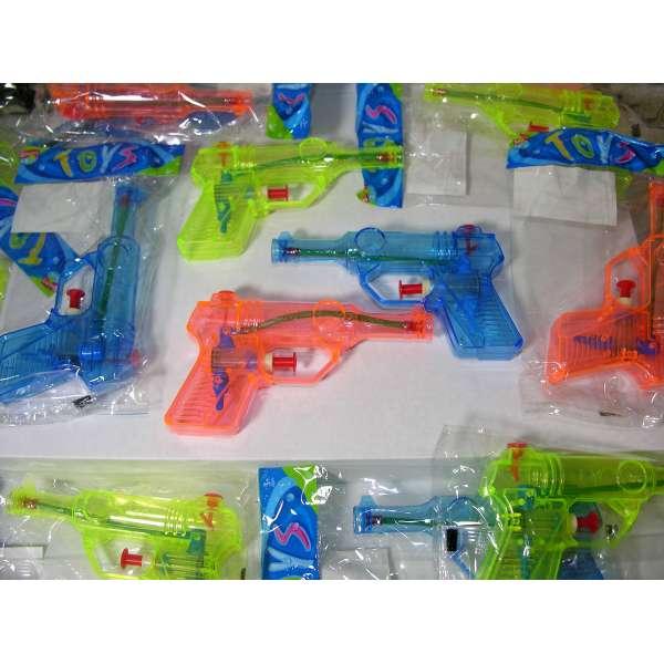 30x Kinder Wasserpistole 12,5cm Spritzpistole Wasserspritze Mitgebsel Tombola Party