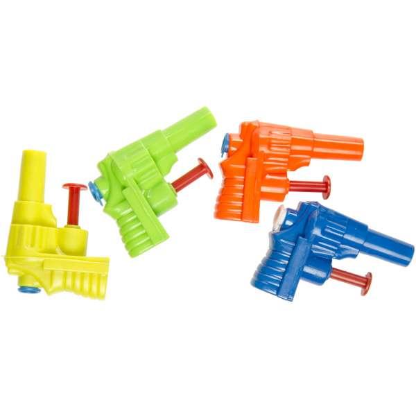 4x Kinder Wasserpistole 6x4,5cm Spritzpistole Wasserspritze Spielzeug Mitgebsel Tombola