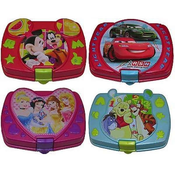 Brotdose Disney Cars Winnie Pooh Prinzessin Micky Maus zur Wahl Brotbox Lunchbox