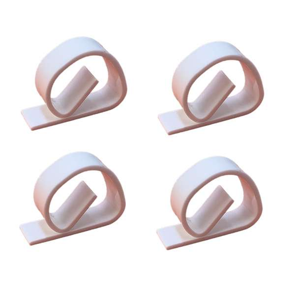 4x Tischtuchklammer weiss Tischdecken Klammern Tischtuchhalter Klammer Halter