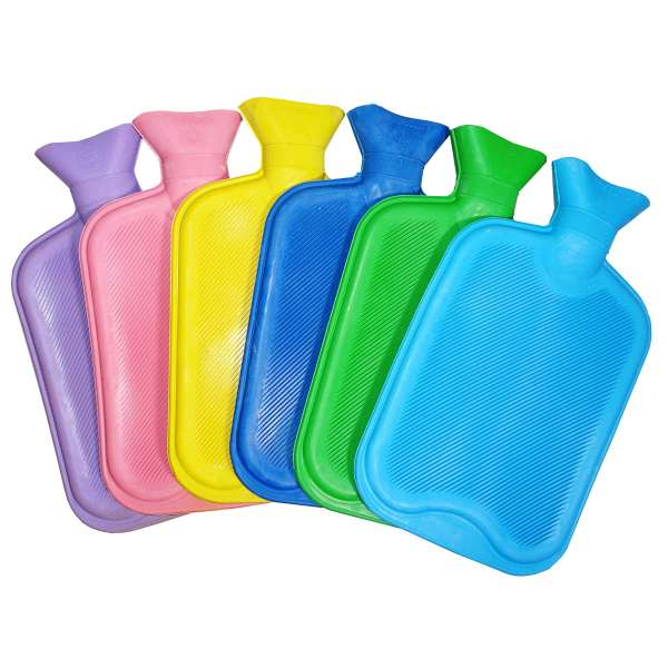 Waermflasche Bettflasche 2L Waermekissen Wellness Kissen Waerme Flasche 6 Farben