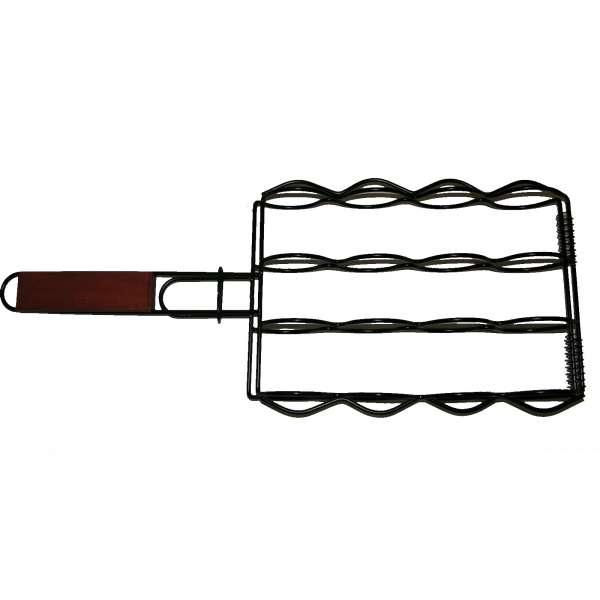Maiskolbenhalter für Grill Maiskolben Halter Rost grillen BBQ Maisgriller Grillkorb