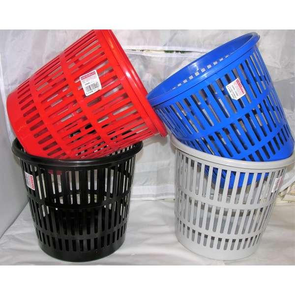 Papierkorb Papiereimer Abfalleimer Mülleimer Abfallkorb Müllkorb Retro 4 Farben