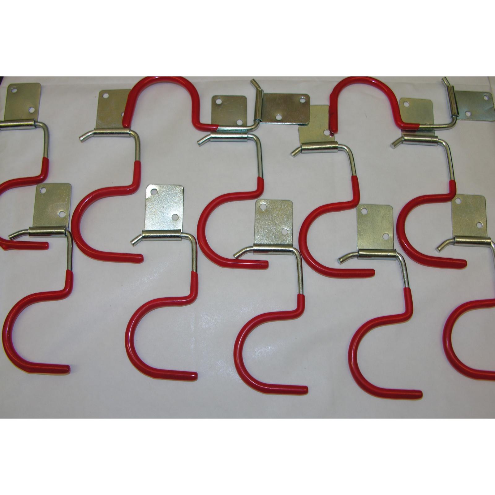 15xGerätehalter Geräteleiste Haken Besenhalter Werkzeughalter Gartengerätehalter
