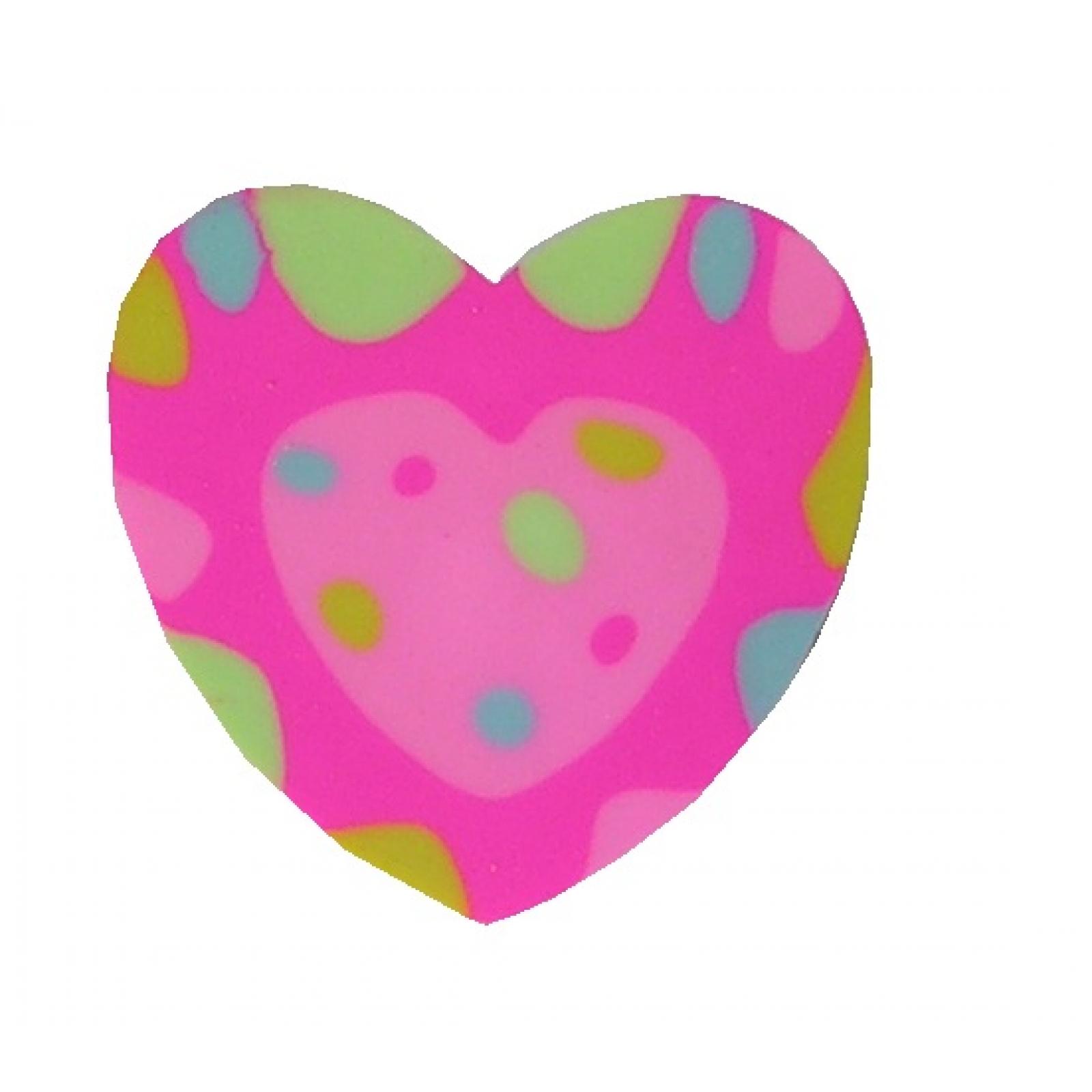 12x Radiergummi Herz Eraser Radiergummis Herzform Mitgebsel Kindergeburtstag